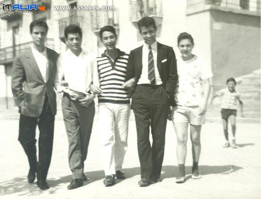 Federico Raneri - Il Prof. Bongiovanni - Mimmo Pagano -  Felice Panebianco e Franco Savoca