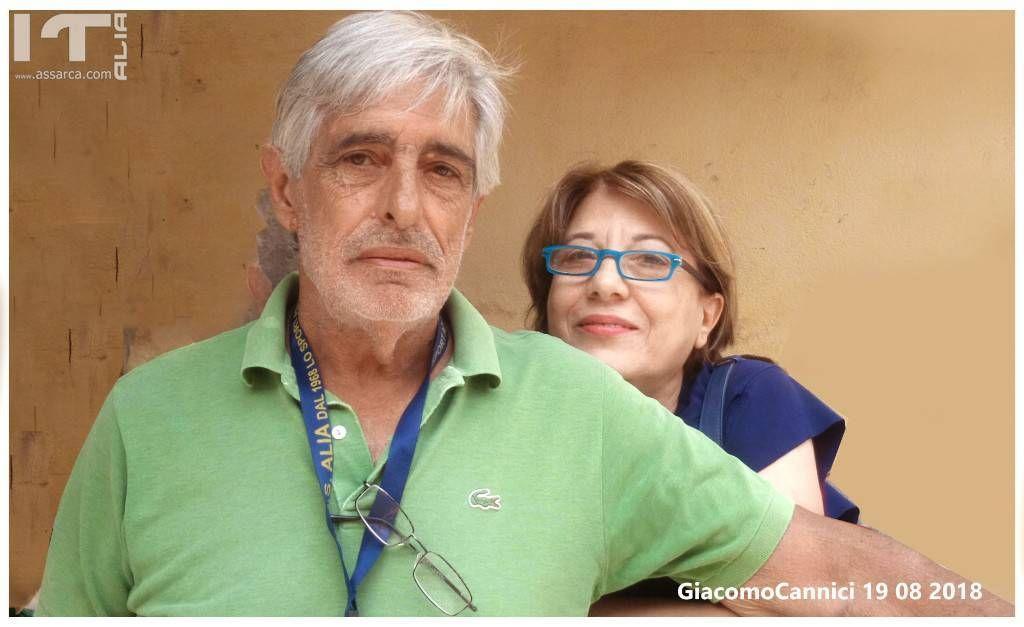 Nino Gancitano e Adriana Iovino