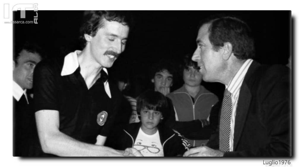 NEL 1976 CON IL DT STEFANO FARINA LND/CR SICILIA FIGC
