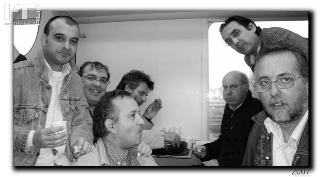 RICORDI DEL 2007...IN TRENO...