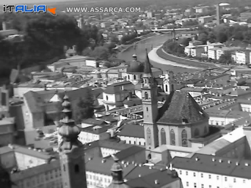 Salisburgo Vista dal Castello