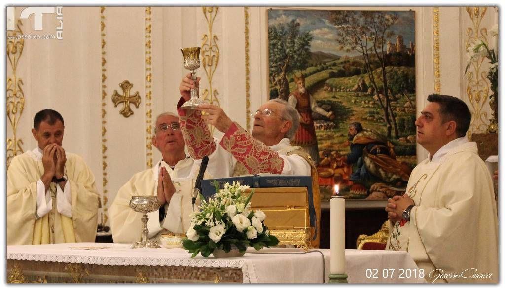 Celebrazione Santa Messa - Alia 2 Luglio 2018