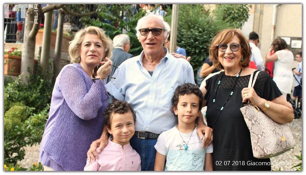 Cettina Guccione - I coniugi Castellana e nipotini - Alia 2 Luglio 2018