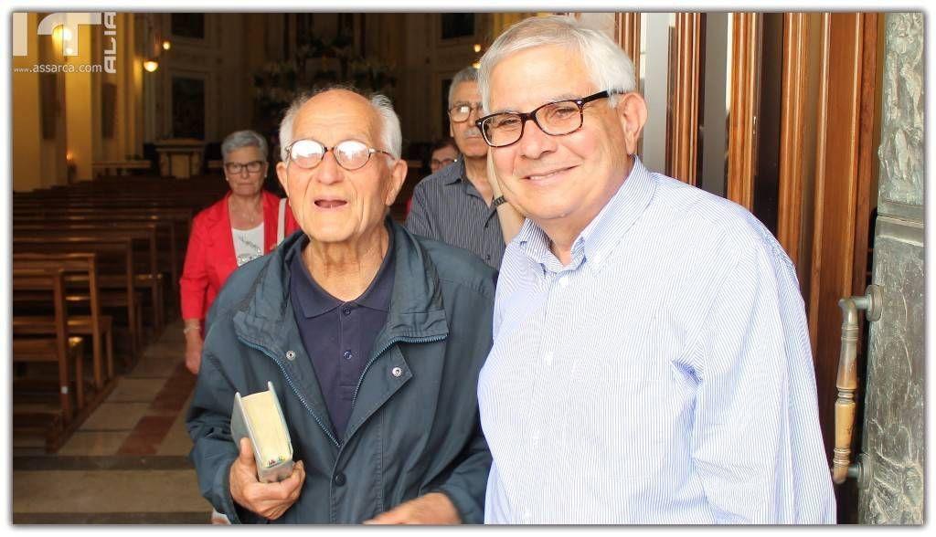 Padre Antonino Di Sclafani e Salvatore Tripi