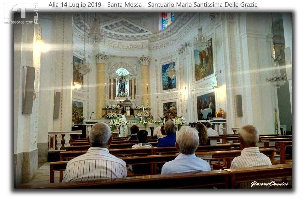 SANTA MESSA - SANTUARIO MARIA SS.DELLE GRAZIE - ALIA