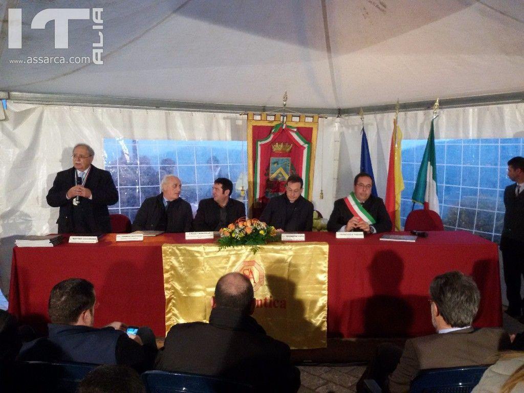 Inaugurazione del belvedere