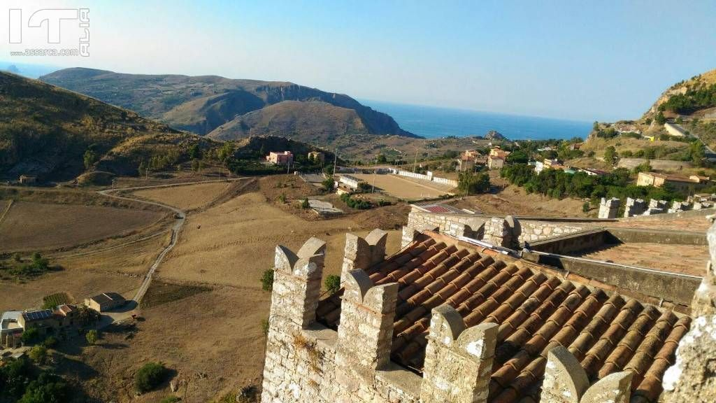Veduta dal Castello di Caccamo.