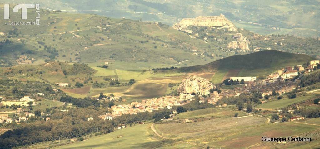 Roccapalumba e il castello di Vicari