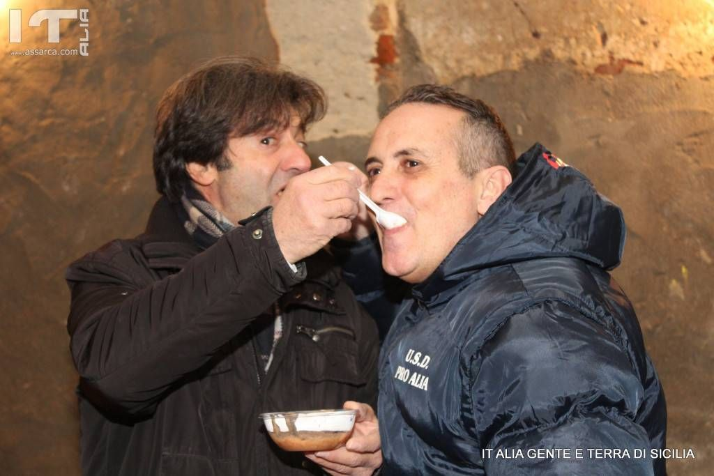 Pino Centanni e Angelo Talamo. ( Si pascinu)