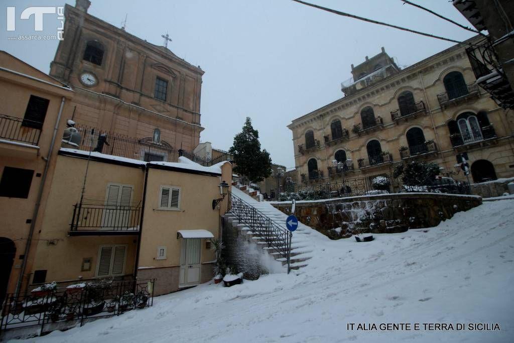 Il santuario e il palazzo Guccione, 4 gennaio 2019