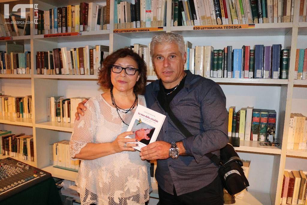 Con l`amica Maria Teresa Lentini,in occasione della presentazione del suo libro,su Maria Fuxa. Alia 15 settembre 2019.