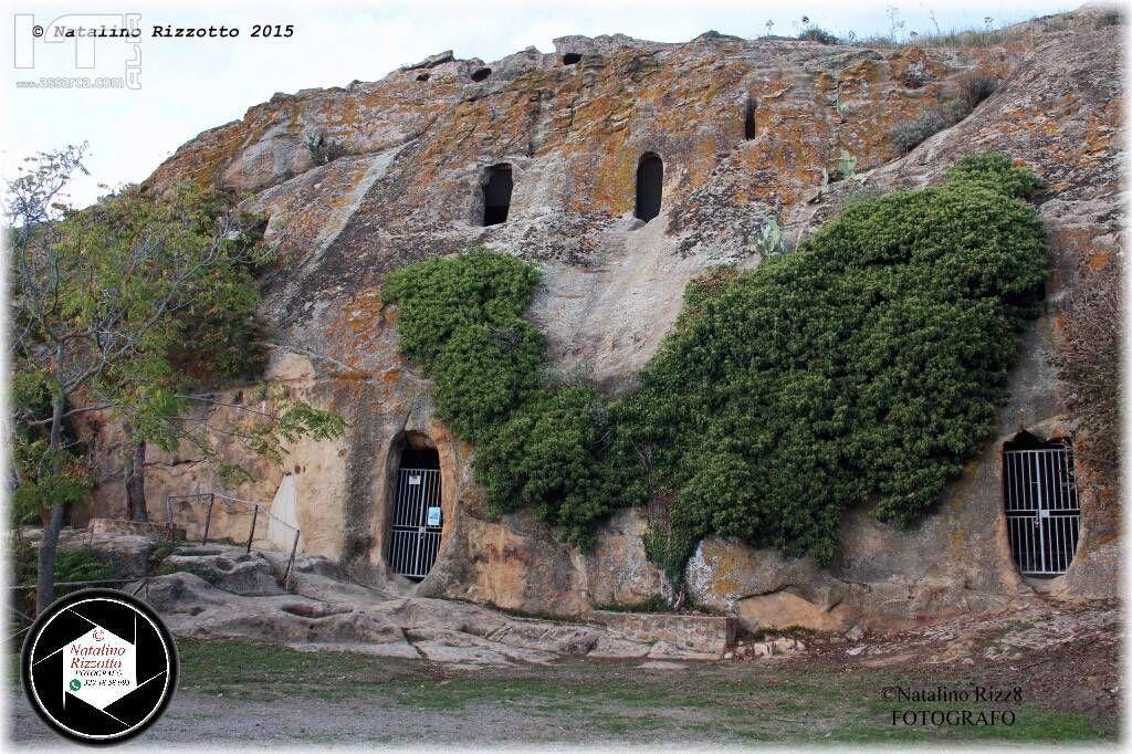 Grotte Gurfa Alia (pa):ESTERNO