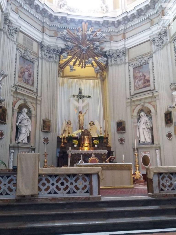 Altare della Chiesa in onore di S. Teresa alla Kalsa