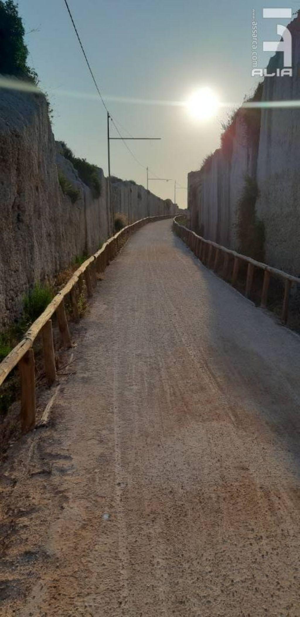 La pista ciclabile Rossana Maiorca