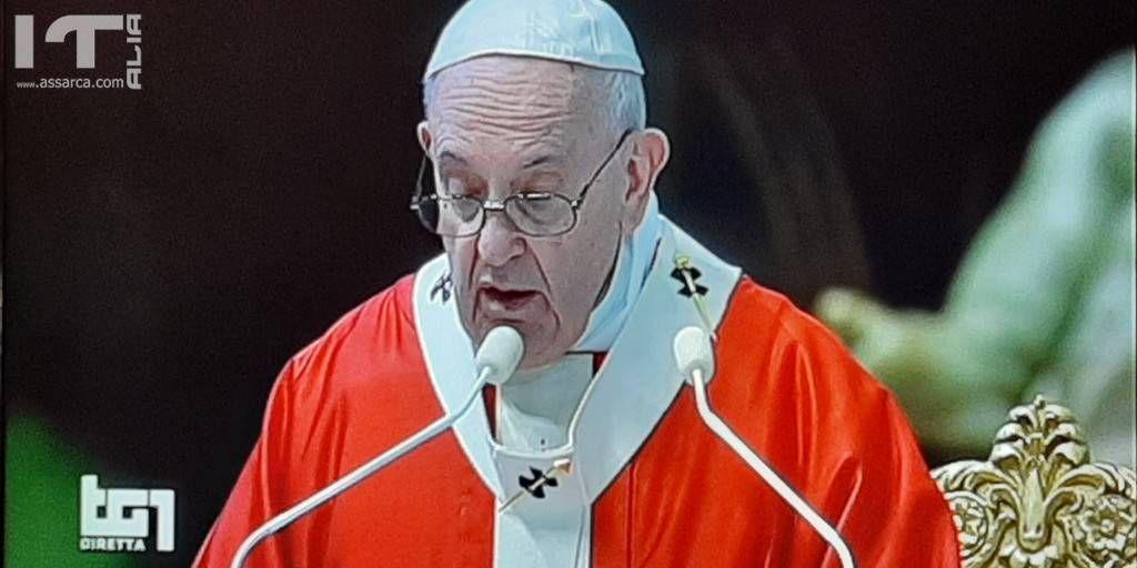 Papa Francesco  - Santa Messa Domenica Delle Palme  - 5/4/2020