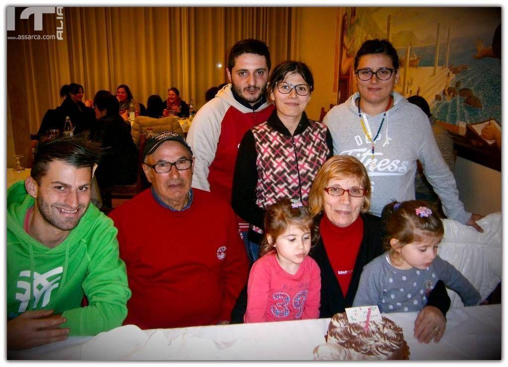 Totò Cardinale e famiglia