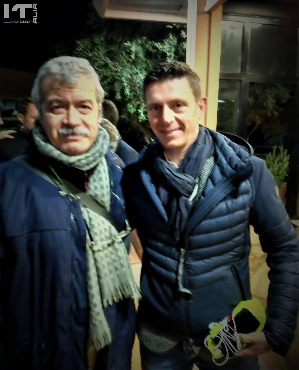Giuseppe La Cara e Gianluca Rocchi