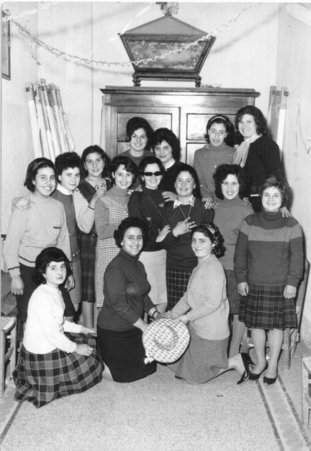 Azione Cattolica Femminile Parrocchia di Sant`Anna anno 1964