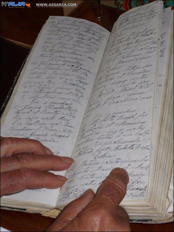 Archivio dei battesimi Chiesa Matrice