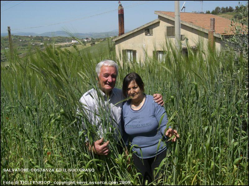 Salvatore Costanza ed il suo grano