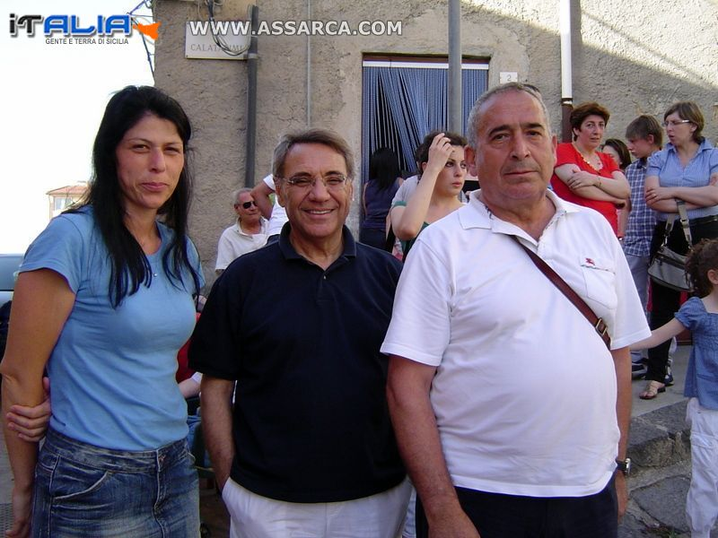 Rosanna Andollina, Pino Disclafani, Enzo Siragusa