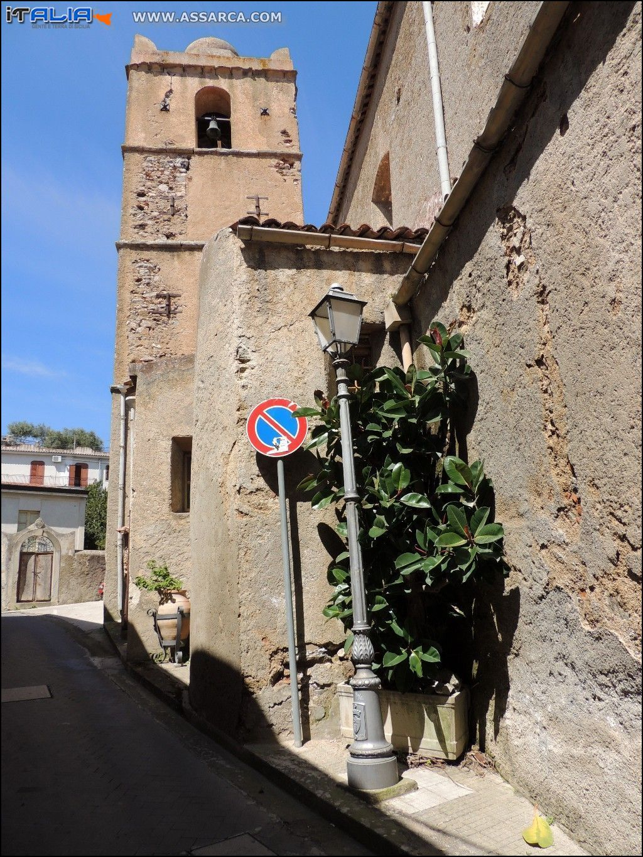 PRAINO -  CHIESA MATRICE DI SANTA MARIA - SEPOLCRO DEI SACERDOTI PIRAINO SEC. (XIII)*