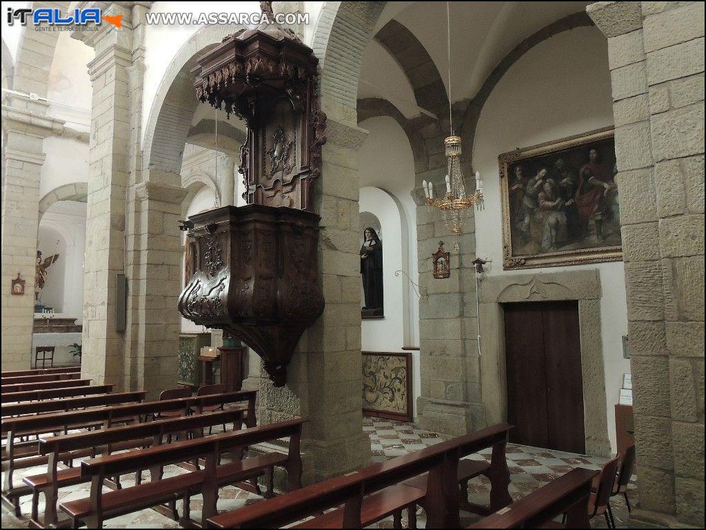 SANT`ANGELO DI BROLO - CHIESA MADRE SANTA MARIA*