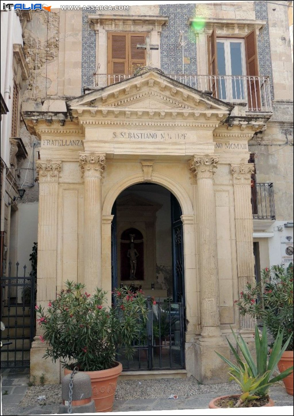 Siracusa - Cappella S.Sebastiano - MCMVII*