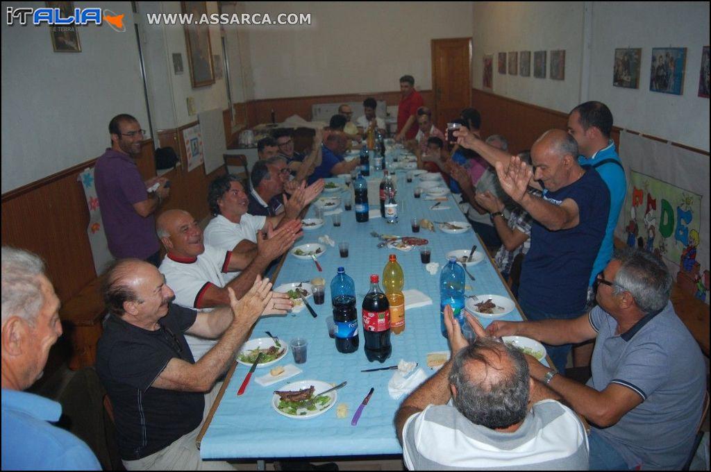 Cena portatori S. Anna