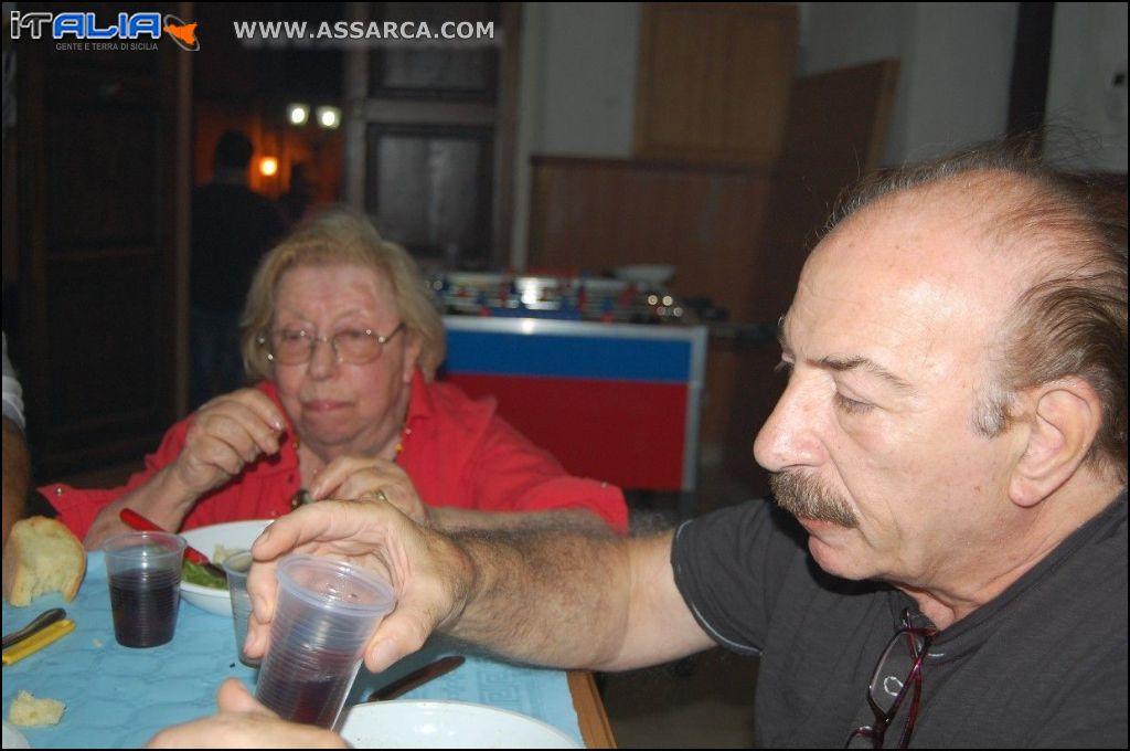 Turi Ferraù e la signora Elvira