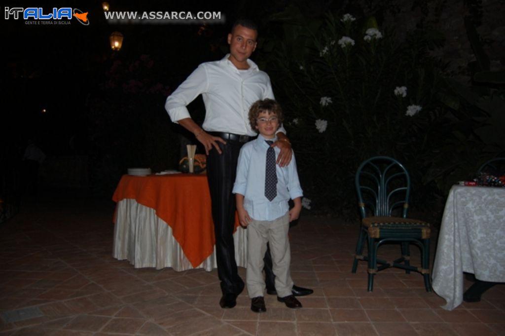 I cugini Ignazio e Felice Panebianco