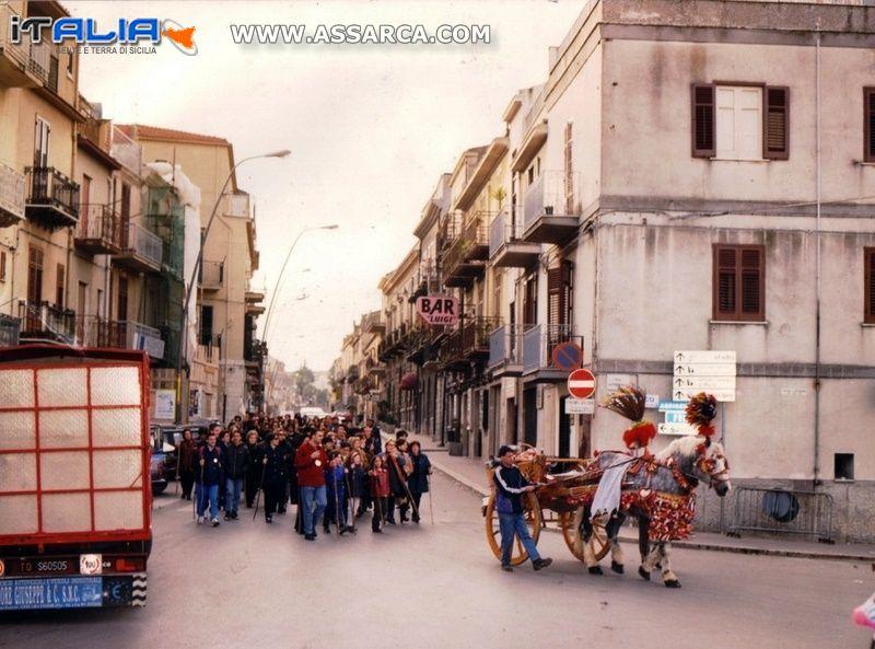 Processione a Lercara Friddi