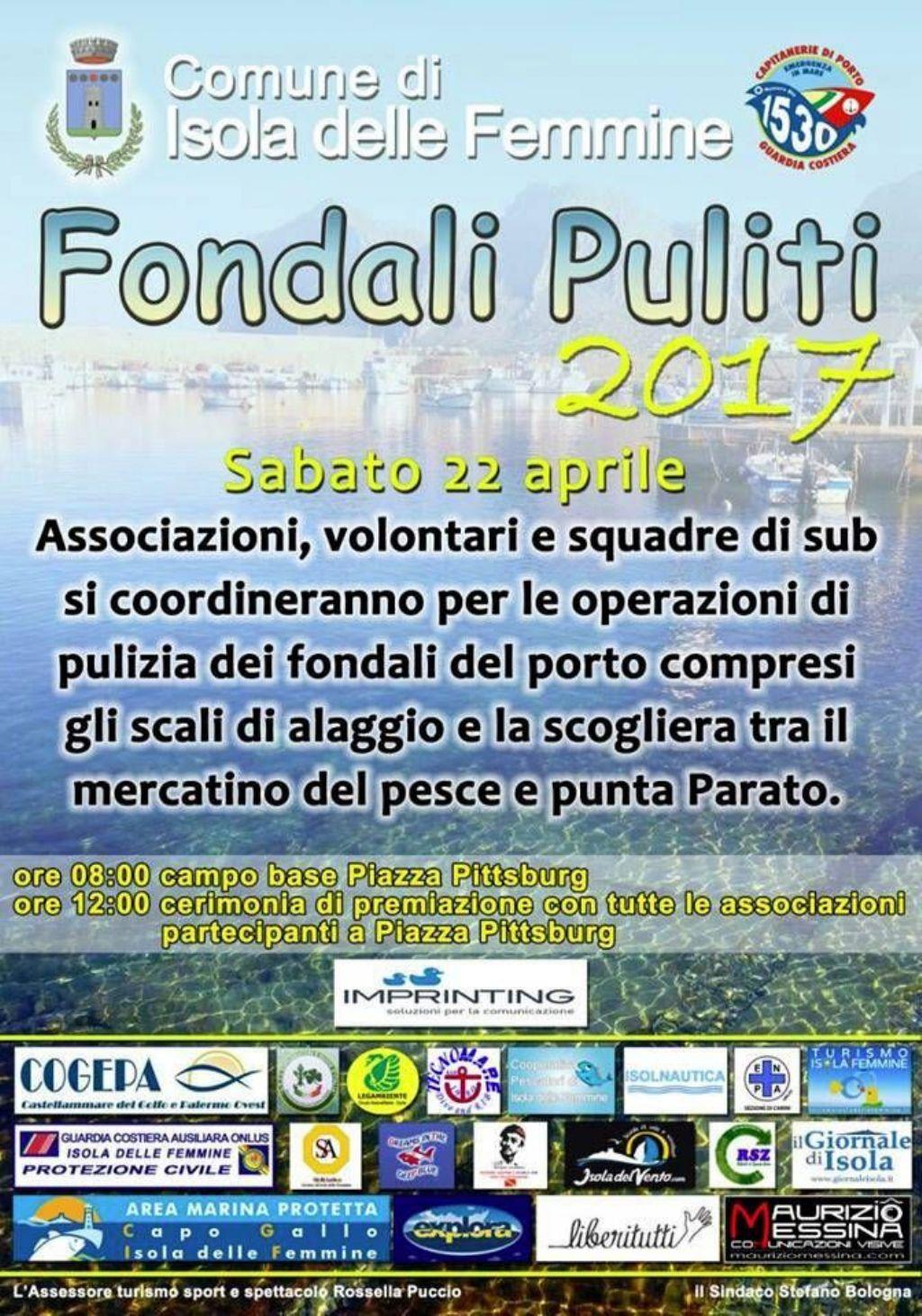 FONDALI PULITI 2017