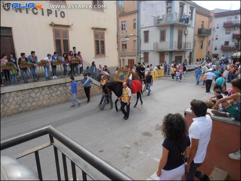 PER I  FESTEGGIAMENTI  DI SANT`ELIGIO 2014 A SCIARA