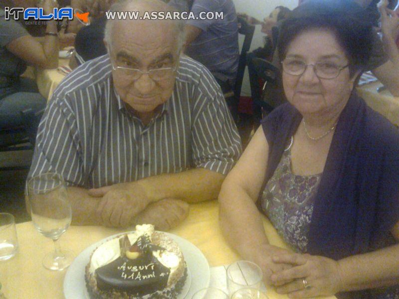 Giuseppina Trumello e Lucio Di Gioia - 41? anniversario di matrimonio