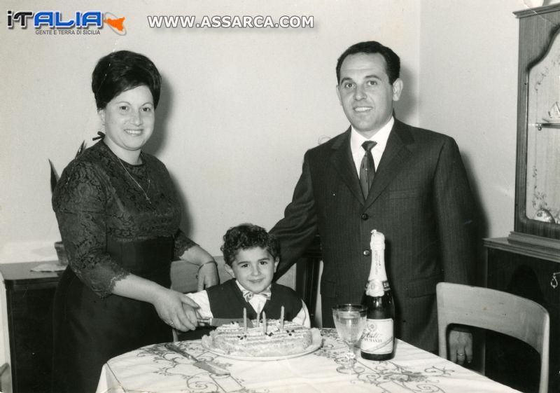 Ricordo compleanno mio figlio Maurizio