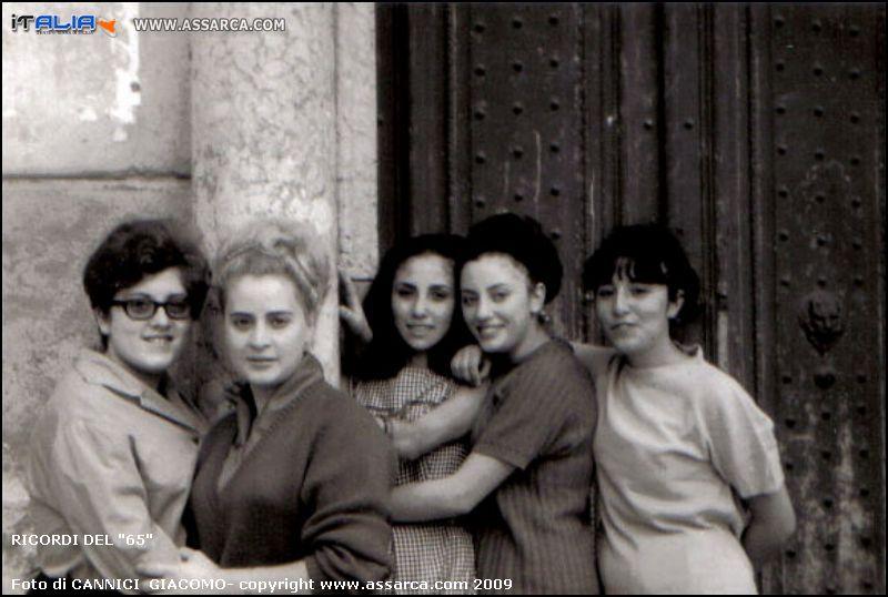 """Franca Cannici - Franca Firrone - Franca Vella - Franca Rossi - Francesca Cannici. Ricordi del """"65"""""""