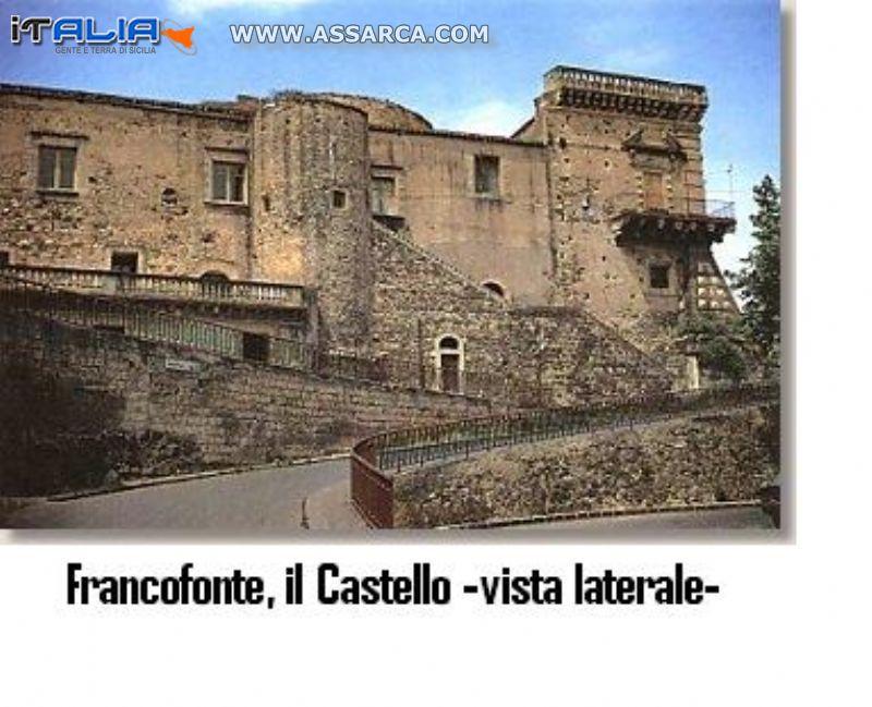 Francofonte (SR), Il Castello-vista laterale-