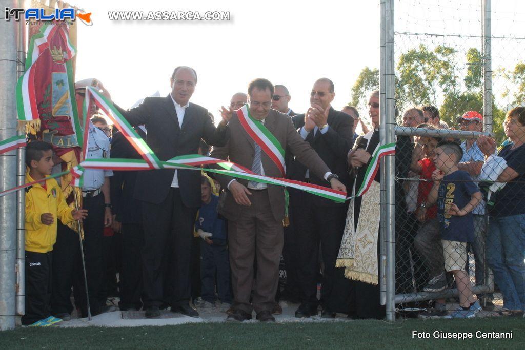 Inaugurato il campetto di calcio