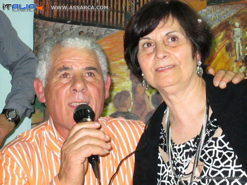 Coniugi Pino e Concetta Sagona