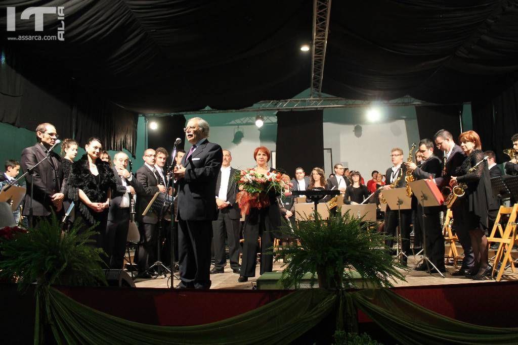 Anno 2014,concerto lirico sinfonico.