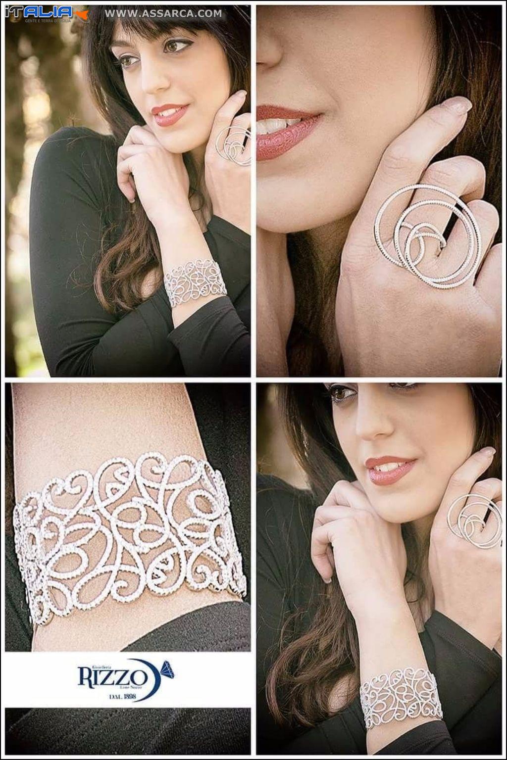 Tecla Perrone , presenta una collezione di gioielli.