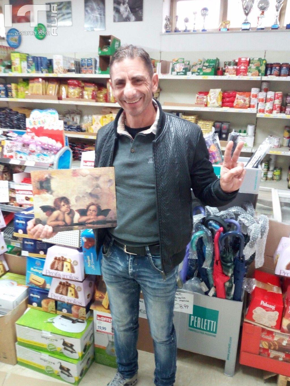 Fabio Costanzo vincitore del sorteggio di Santa Lucia