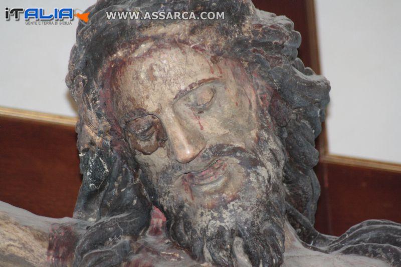 Crocifisso della chiesa Madre di Alia