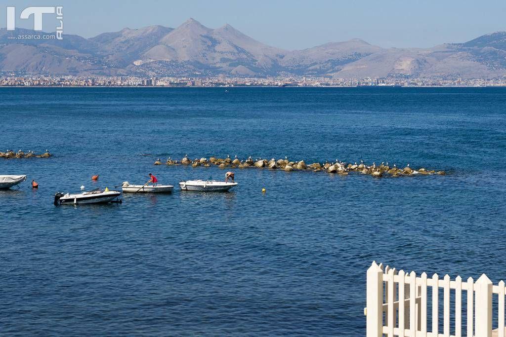 Panorama: Palermo vista da Aspra (Bagheria)