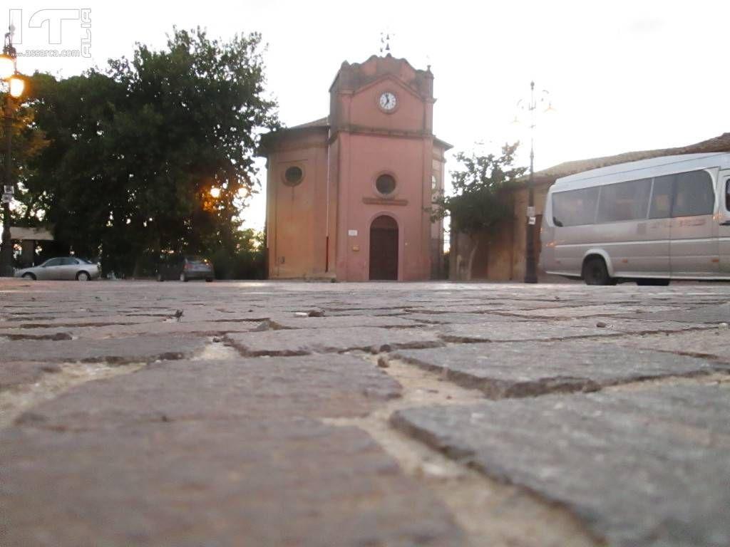 Chiesa santa Rosalia da un punto di vista.