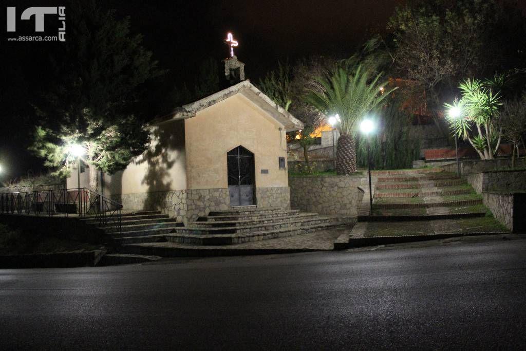 """La chiesetta di Santa Rosalia """"la Piccola"""""""