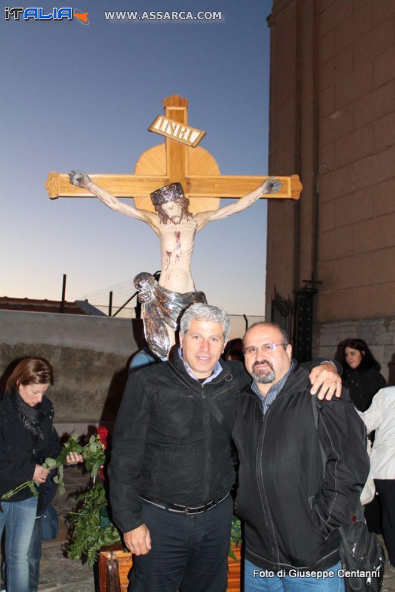 Io con l`amico Vincenzo Di Marco
