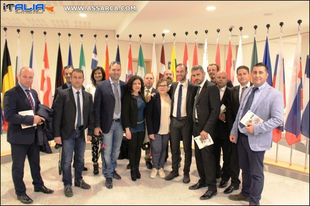 BRUXELLES; DELEGAZIONE GIOVANI AMMINISTRATORI VISITANO PARLAMENTO EUROPEO