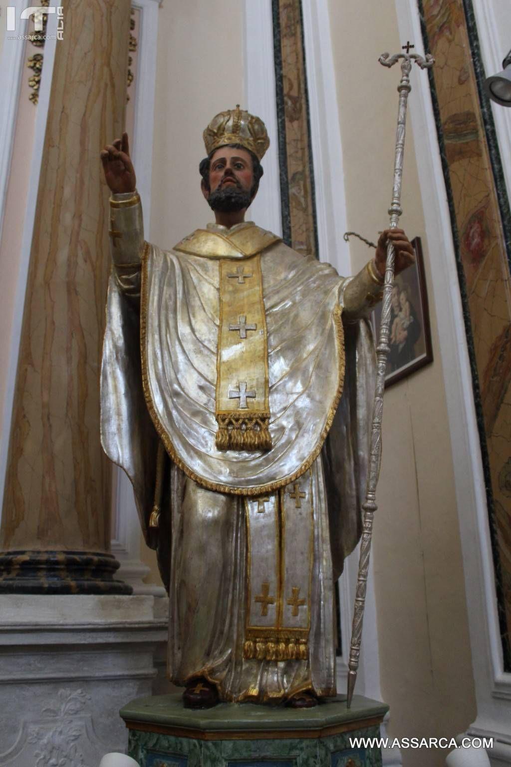 San Nicola Di Mira, Patrono di Palazzo Adriano.